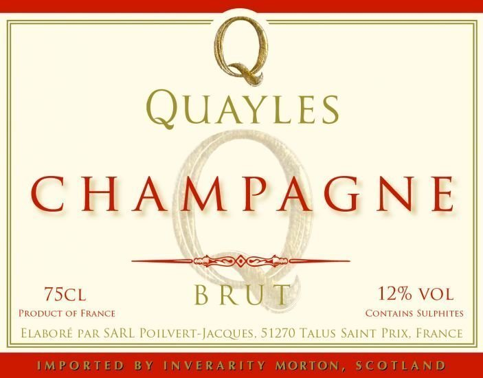 Quayles-champagne-label