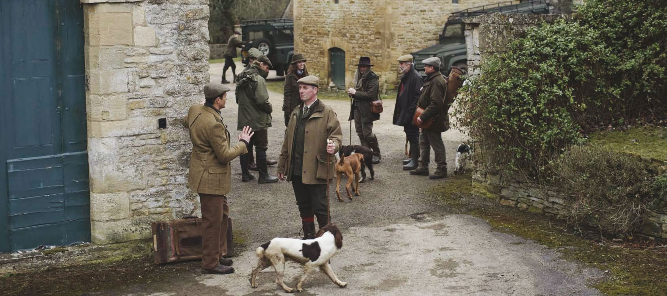 Purdey-game-shoot-cornwell-manor-yard