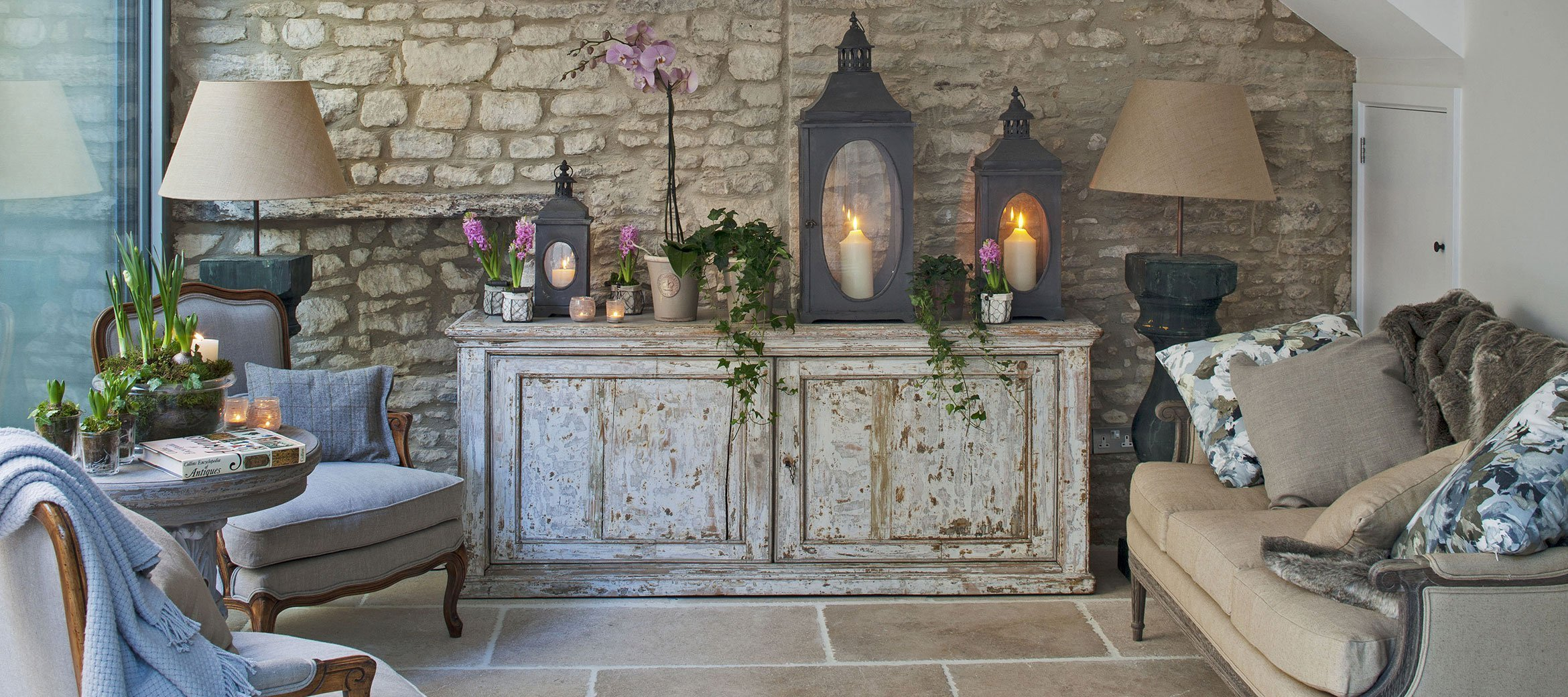 Stunning Cotswold Cottage Living Room Full Home Tour over on Modern Country Style