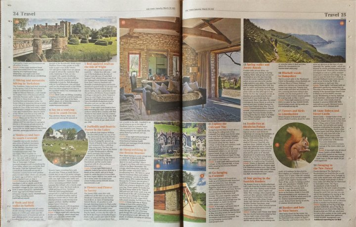 the-times-20-great-british-spring-breaks-weekend-dryhill-cottage-spread