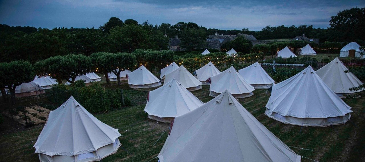 cornwell-manor-bell-tents-night