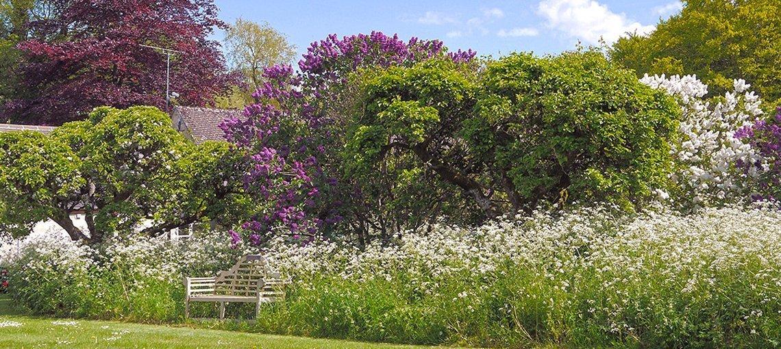 bruern-holiday-cottage-garden-bench