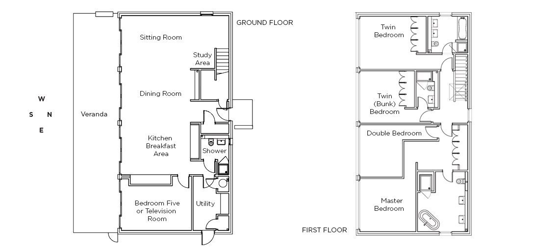 View the floorplan of The Lake House