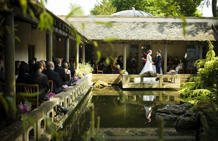Outdoor Park Or Indoor Room For Wedding Ceremony: Cotswold Wedding Venues: Kingscote Park & Matara