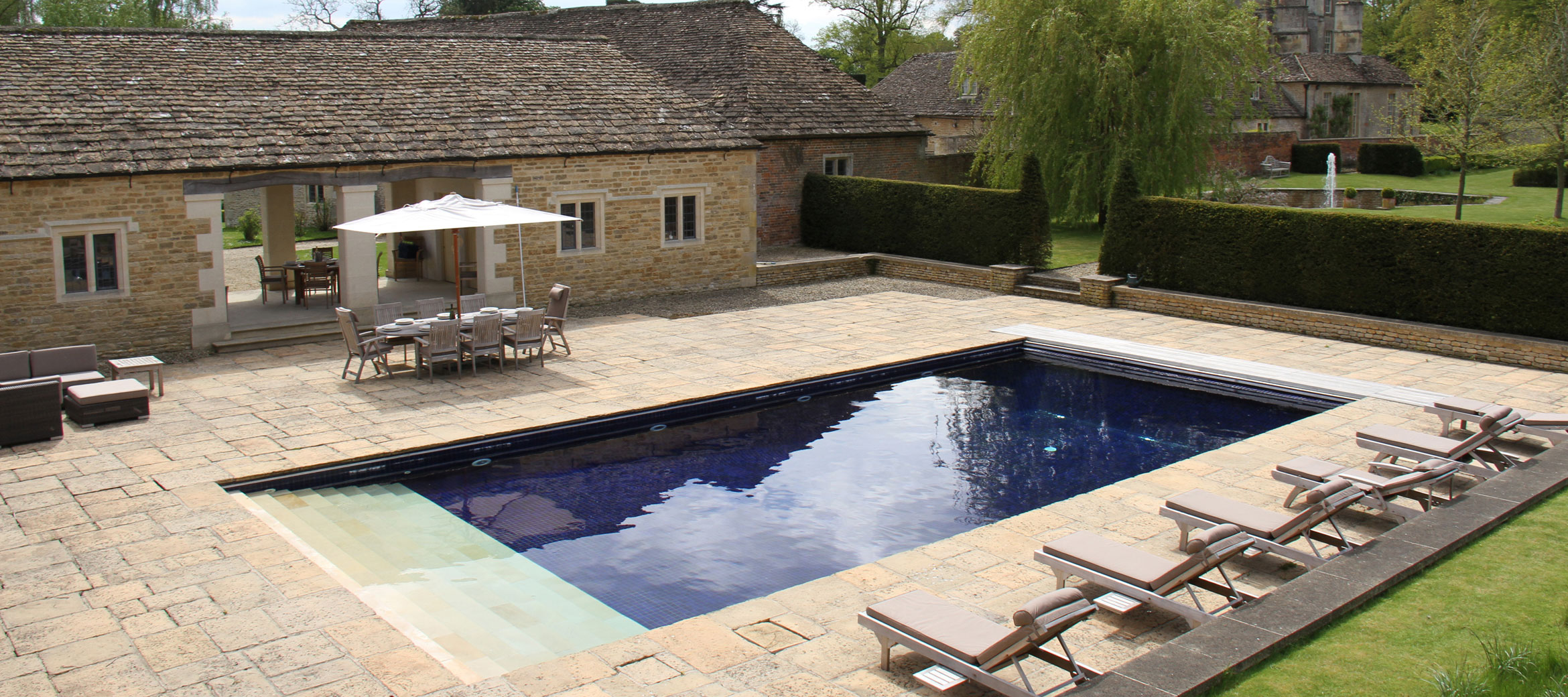 Langley Park Cotswold Heated Swimming Pool