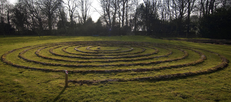 kingscote-labyrinth