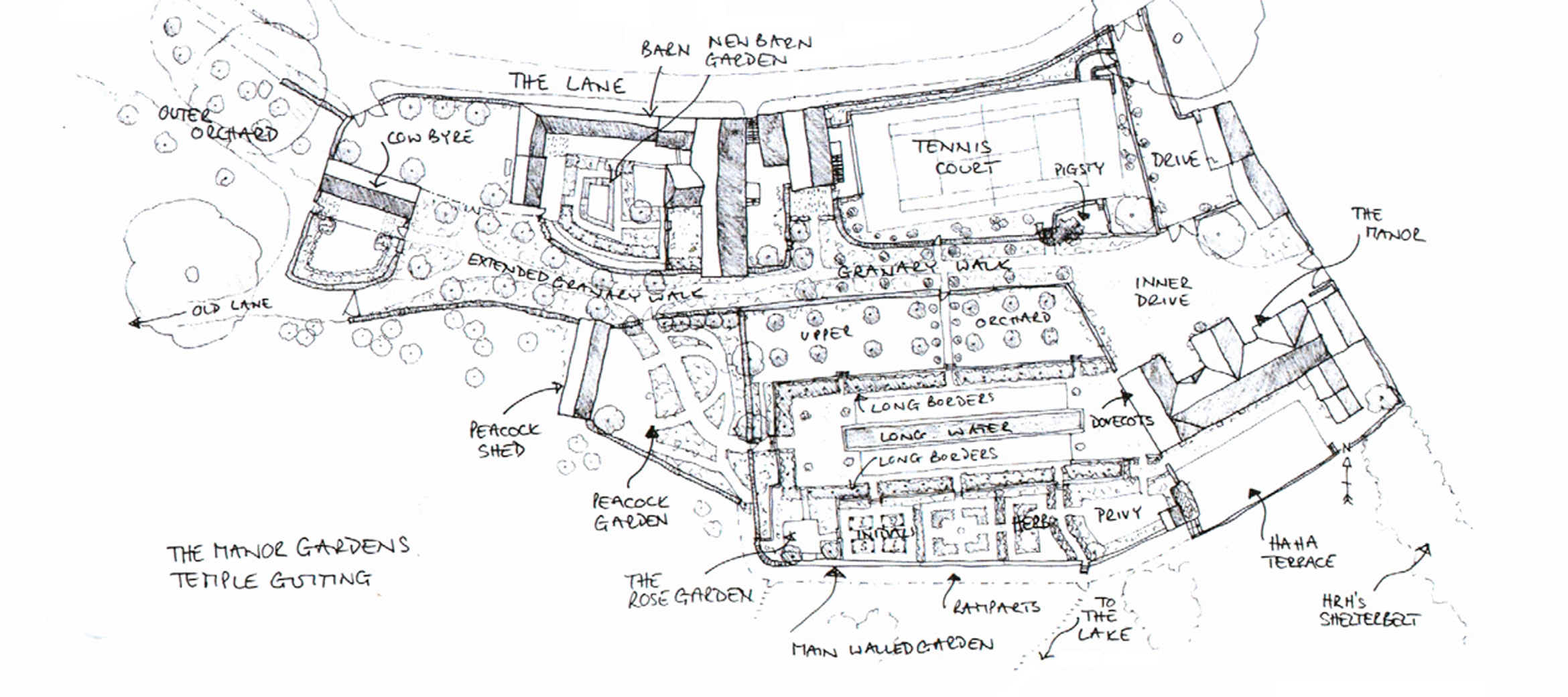 Temple-Guiting-Estate-Map