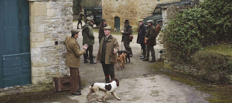 Purdey-game-shoot-cornwell-manor-yard