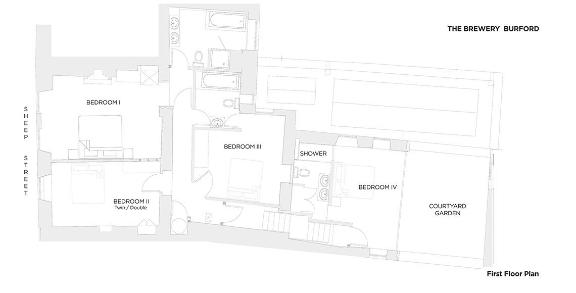 View the floorplan of The Brewery Burford