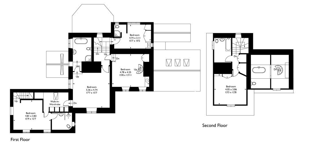 View the floorplan of Dryhill Weddings