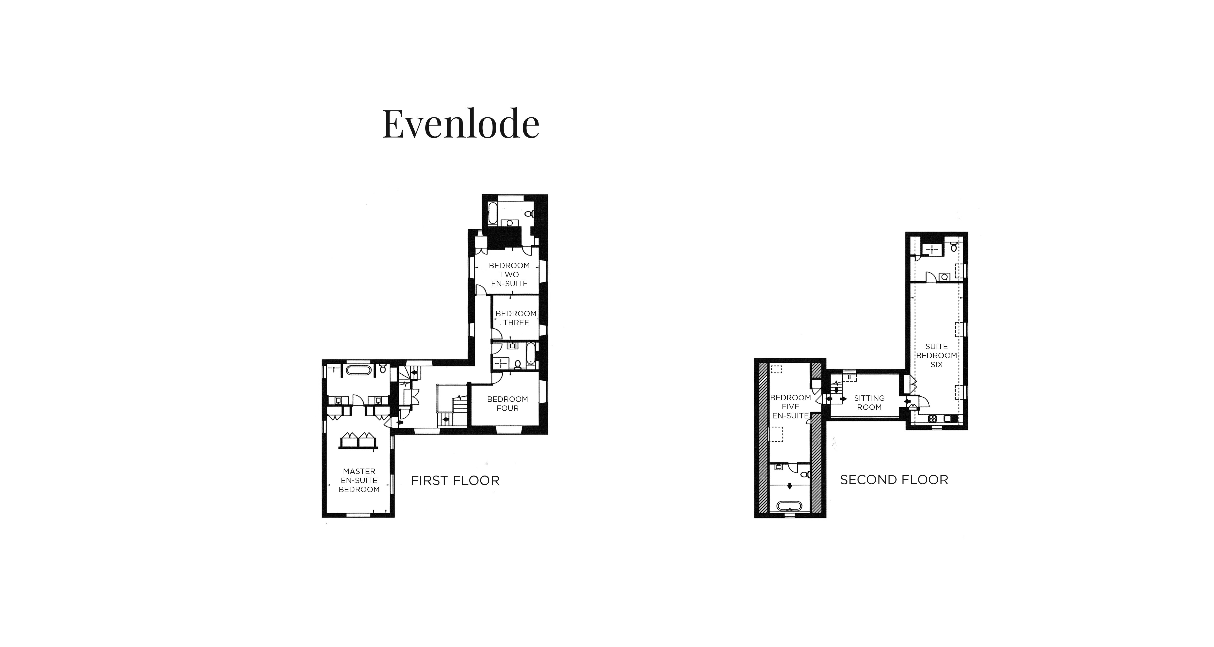 View the floorplan of Home Farm Evenlode