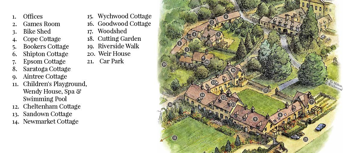 View the floorplan of Bruern: Classic Cotswold Cottages