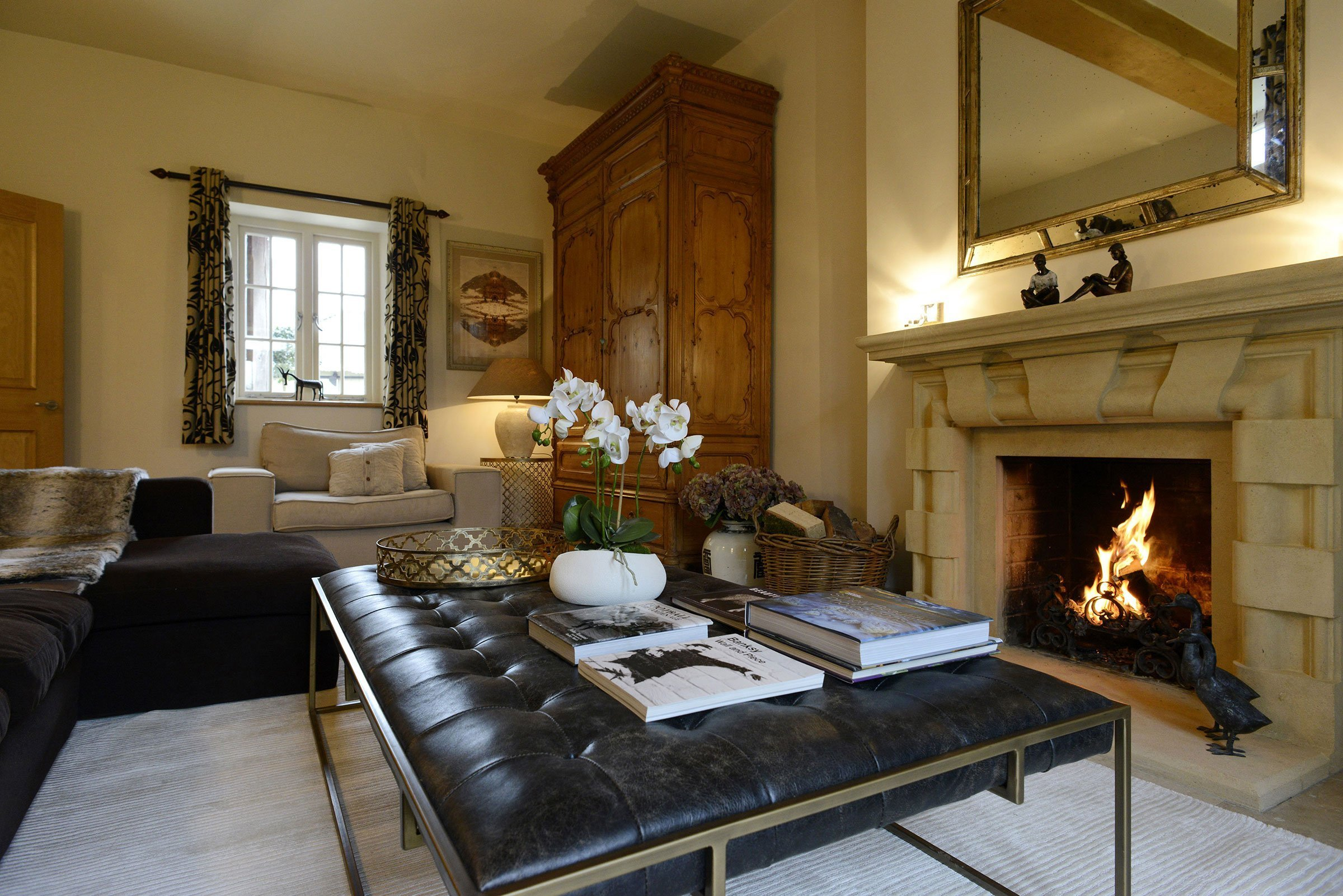 the-laurels-draycott-drawing-room-open-fire