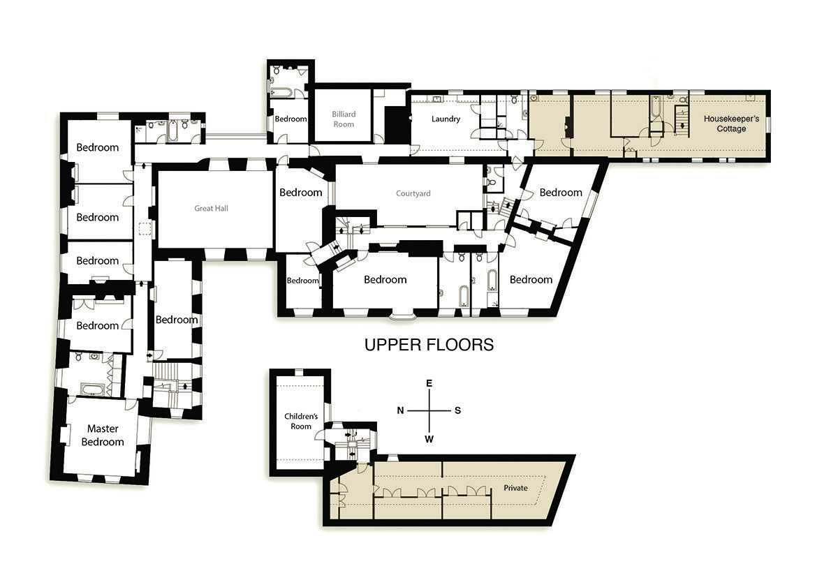 View the floorplan of Little Sodbury Manor