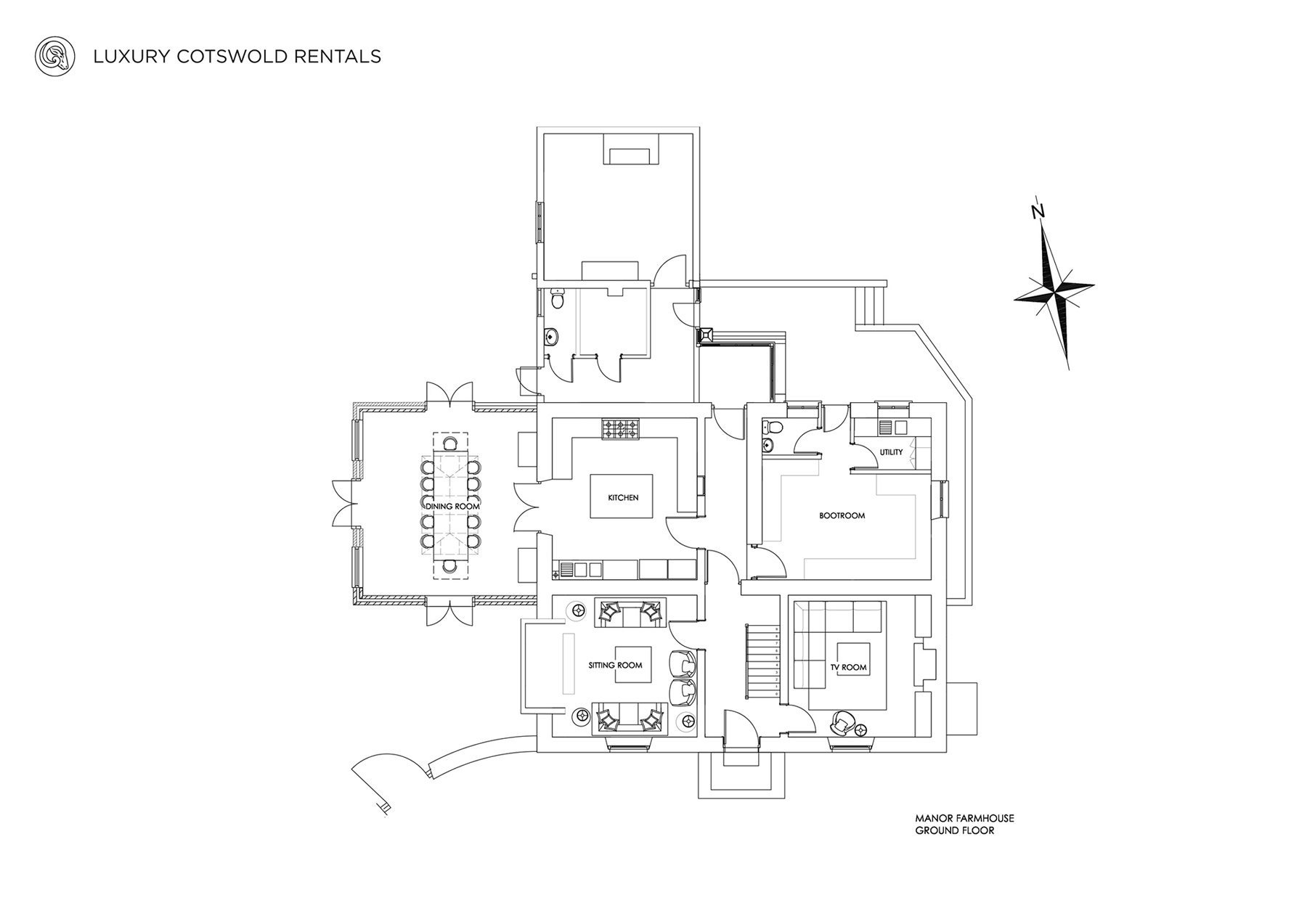 View the floorplan of Manor Farmhouse Conderton