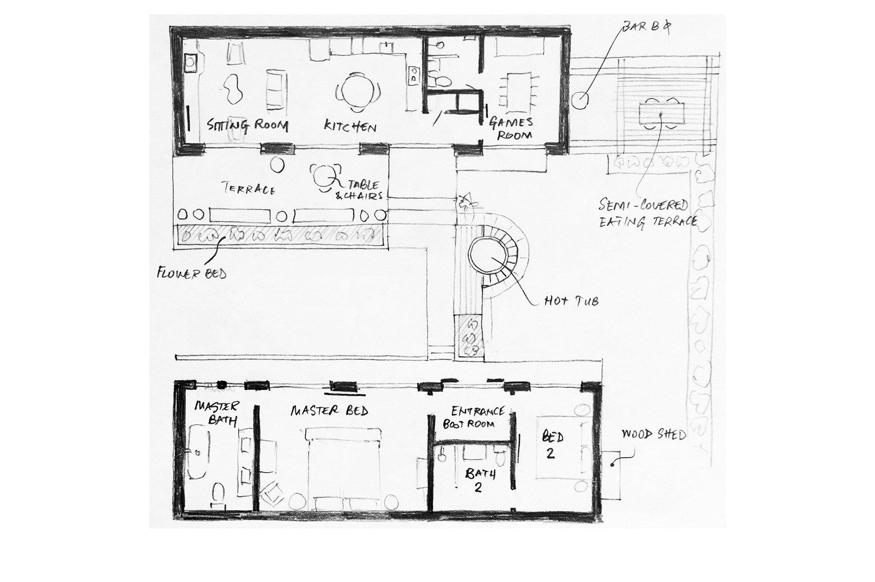 View the floorplan of Congrove Barns Bath